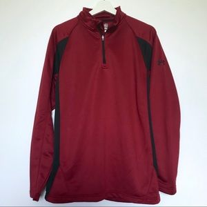 Under Armour Cold Gear 1/4 Zip Pullover Size M